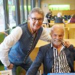 Rudi und Franz an der Kassa