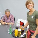 """Unser """"Sonnenschein"""" Sabine vom Service-Team"""