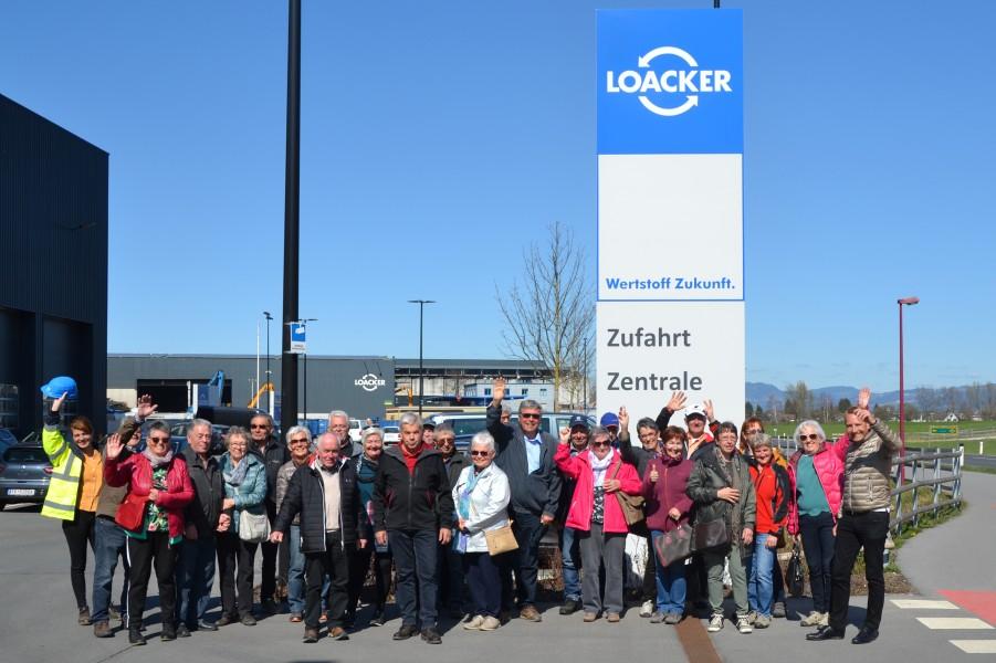 Loacker Recycling Gruppenfoto
