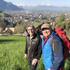 Begegnung am Berg
