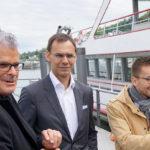 Unsere Ehrengäste LH Wallner, Christian Zoll und Wolfram Pirchner