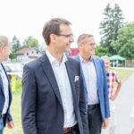 LH Markus Wallner und LR Christian Bernhard