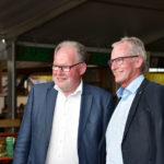 LO aBgm. Werner Huber und Bgm. Gottfried Brändle