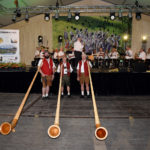 Das Krumbacher Alphorn-Trio