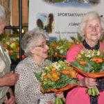 Die Ehrung der ältesten Senioren