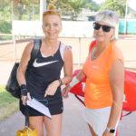 Gut gelaunt sind unsere Tennisfreunde