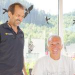 Die Ex-VEU Cracks Donny Dorn und Fritz Ganster