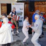 Die Wanderfreunde tanzten