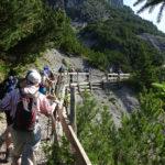 Wanderung zum Schweizer Tor