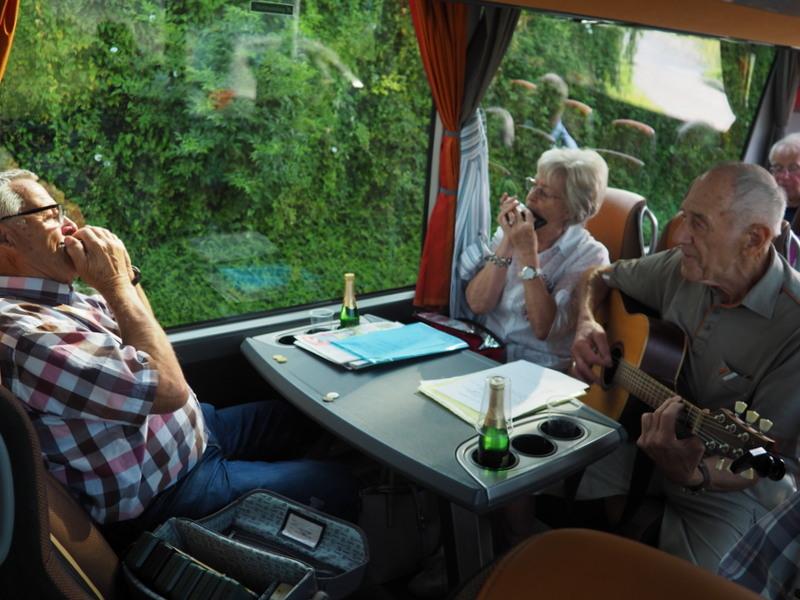 Unsee Musikanten Annelies, Herbert und Franz