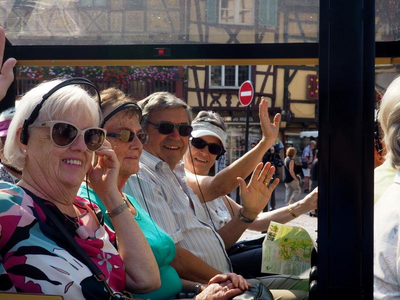 Das Touristen-Zügle in Colmar