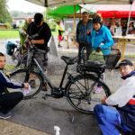 Der Verein Integra reinigte die Fahrräder