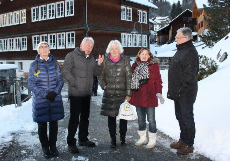 Seniorenausflug von Sulz-Röthis-Viktorsberg nach Schoppernau mit Schlittenfahrt und Besuch des F.M.Felder-Museums - Image 23