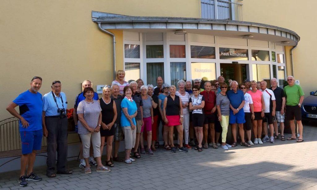 Radlerwoche 2021 des Seniorenbund Lochau nach Gols ins Burgenland - Slide