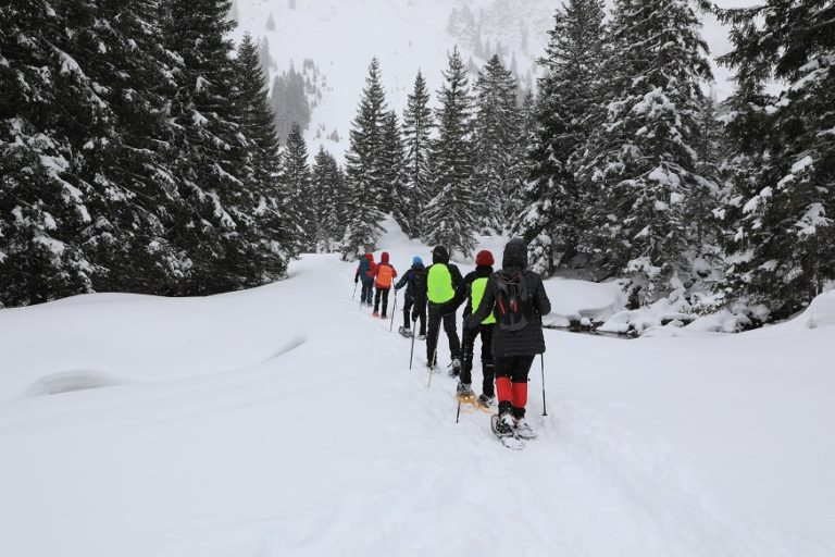 Schneeschuhwanderung in Gargellen - Image 7