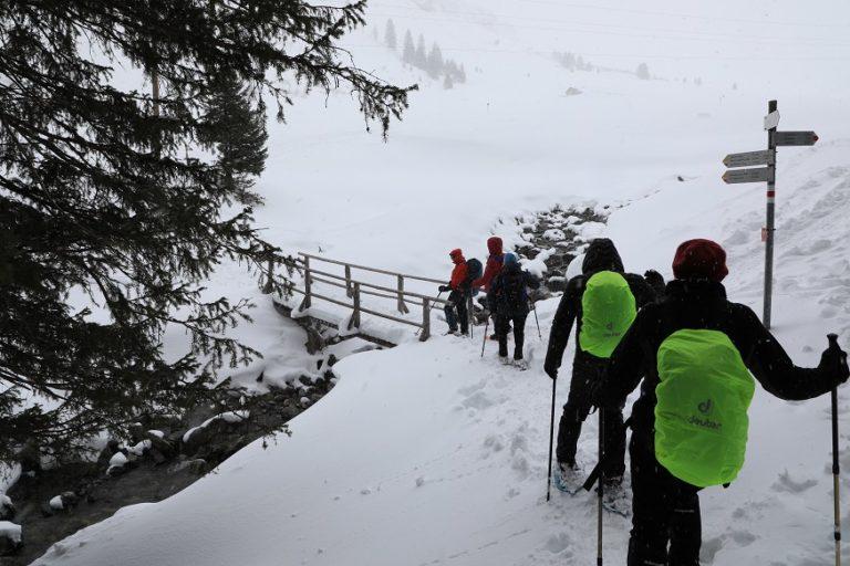 Schneeschuhwanderung in Gargellen - Image 12
