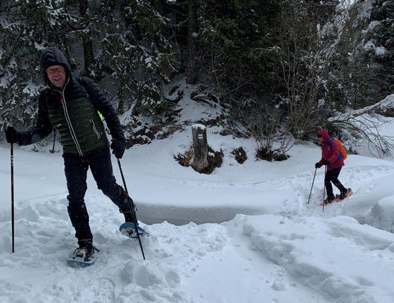 Schneeschuhwanderung in Gargellen - Image 14