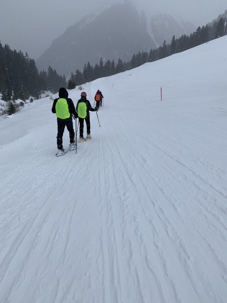 Schneeschuhwanderung in Gargellen - Image 22