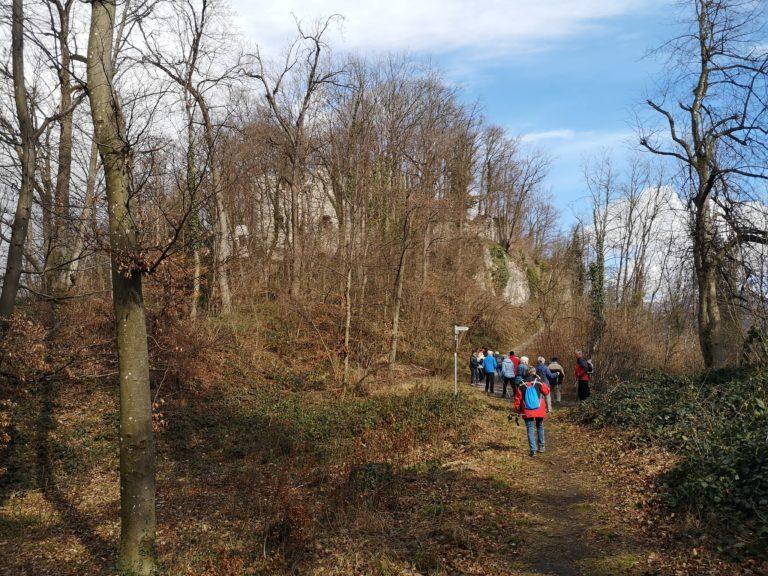 Wanderung Burgruine Neuburg 4.3.2020 - Image 6