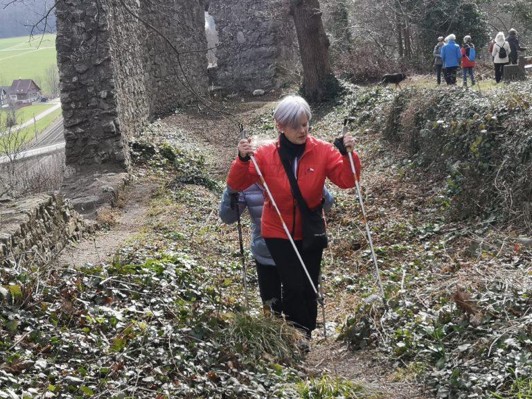 Wanderung Burgruine Neuburg 4.3.2020 - Image 10
