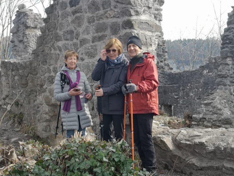 Wanderung Burgruine Neuburg 4.3.2020 - Image 15