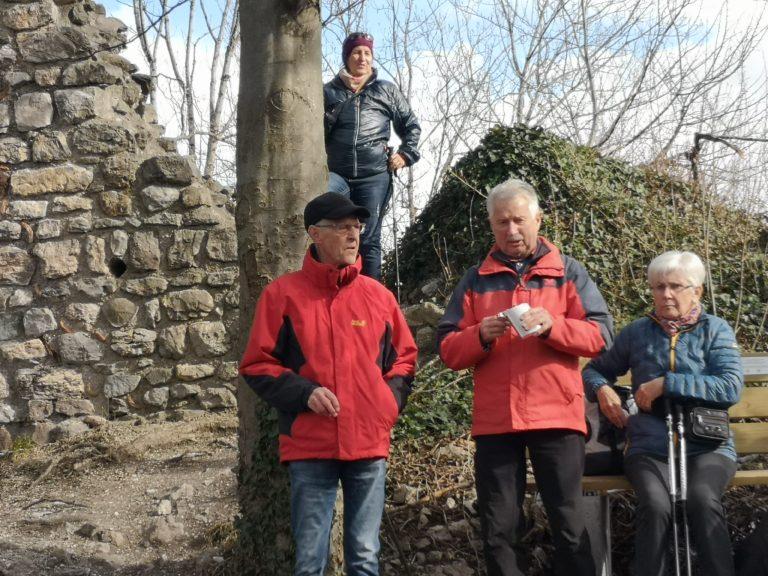 Wanderung Burgruine Neuburg 4.3.2020 - Image 18