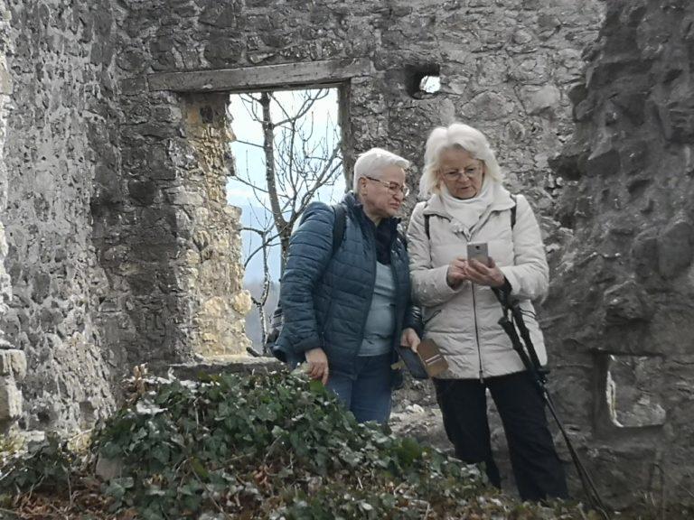 Wanderung Burgruine Neuburg 4.3.2020 - Image 19