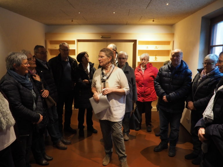 Seniorenbund Sulz-Röthis-Viktorsberg besucht das Schloss Amberg in Feldkirch am 10. März 2020 - Image 2