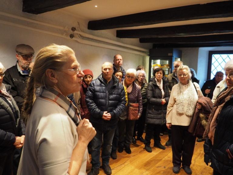 Seniorenbund Sulz-Röthis-Viktorsberg besucht das Schloss Amberg in Feldkirch am 10. März 2020 - Image 3