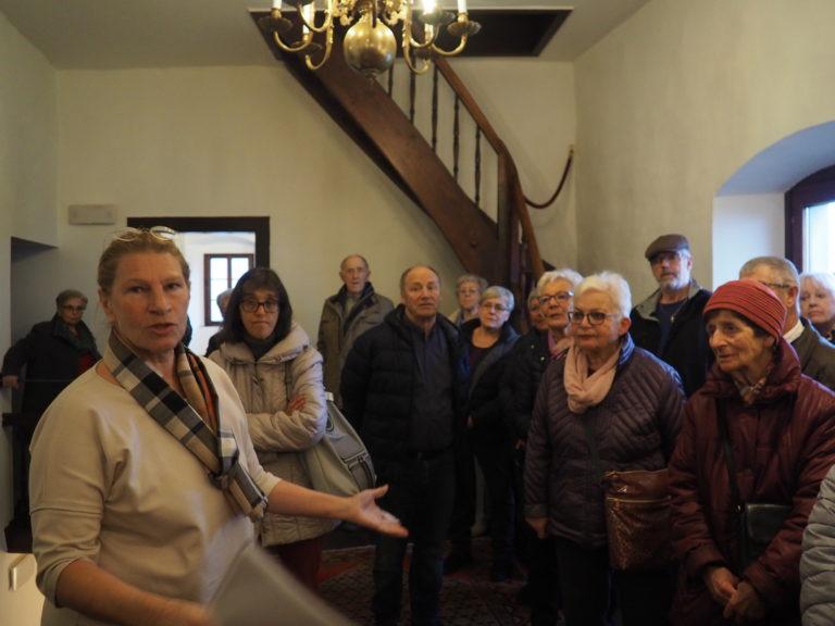Seniorenbund Sulz-Röthis-Viktorsberg besucht das Schloss Amberg in Feldkirch am 10. März 2020 - Image 15
