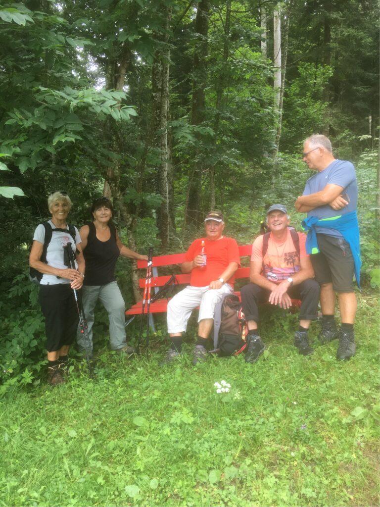 Wanderung am 29.07.2020 des Seniorenbund Rheindelta - Image 3