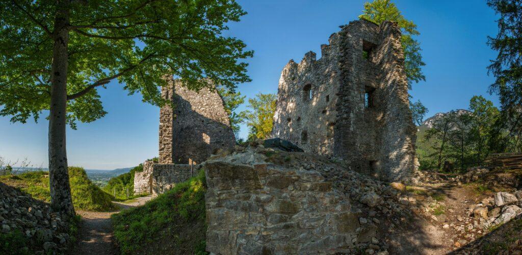 Burgruine Alt Ems - Slide 1