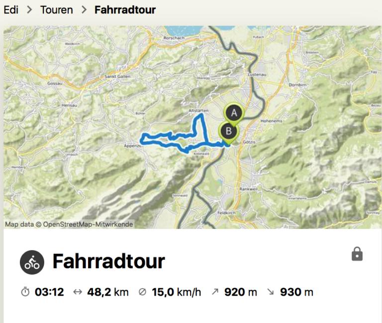 Seniorenbund  OG -Sulzberg  –  Bike-Tour ins Appenzell - Image 1