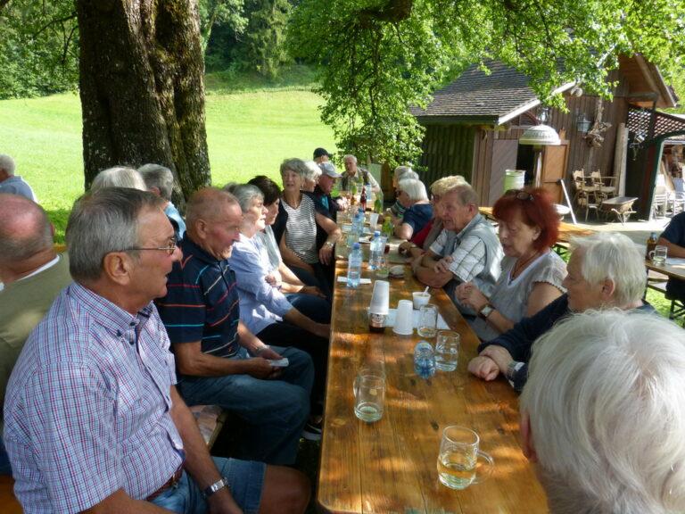 Grillfest des Seniorenbundes Götzis in Emils Bündt - Image 18