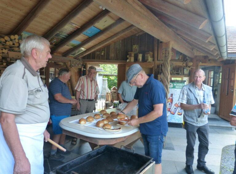 Grillfest des Seniorenbundes Götzis in Emils Bündt - Image 2