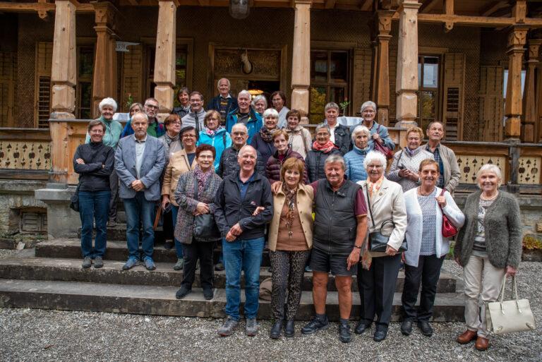 Besuch der Villa Maud in Schoppernau-Hopfreben - Image 12