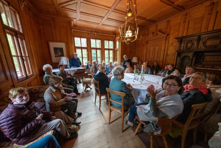 Besuch der Villa Maud in Schoppernau-Hopfreben - Image 19