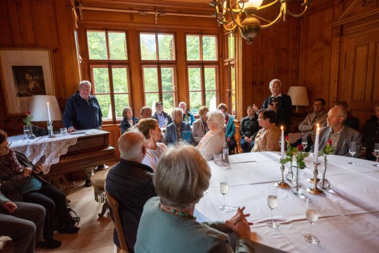 Besuch der Villa Maud in Schoppernau-Hopfreben - Image 20